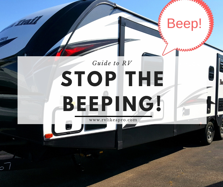 Camper Beeping | RV Like a Pro