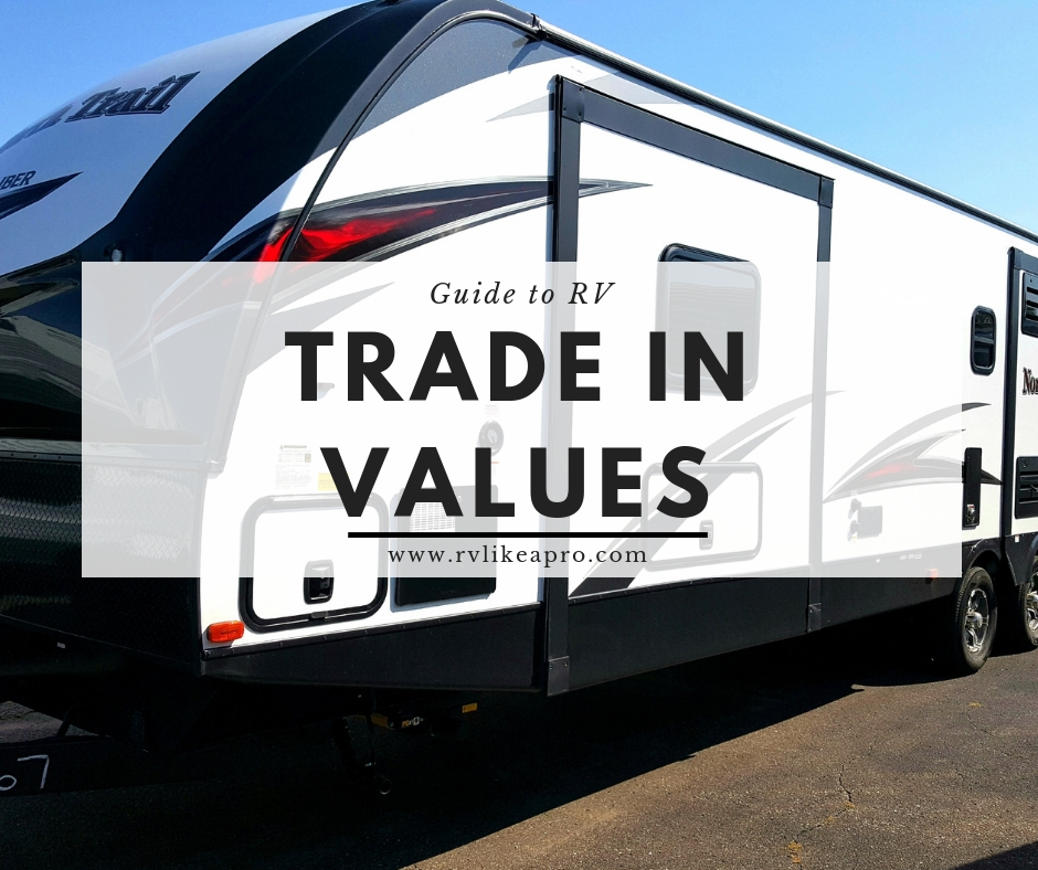 Determining The Trade In Value For An Rv